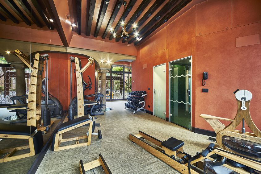 Gym - Hotel Saturnia & International
