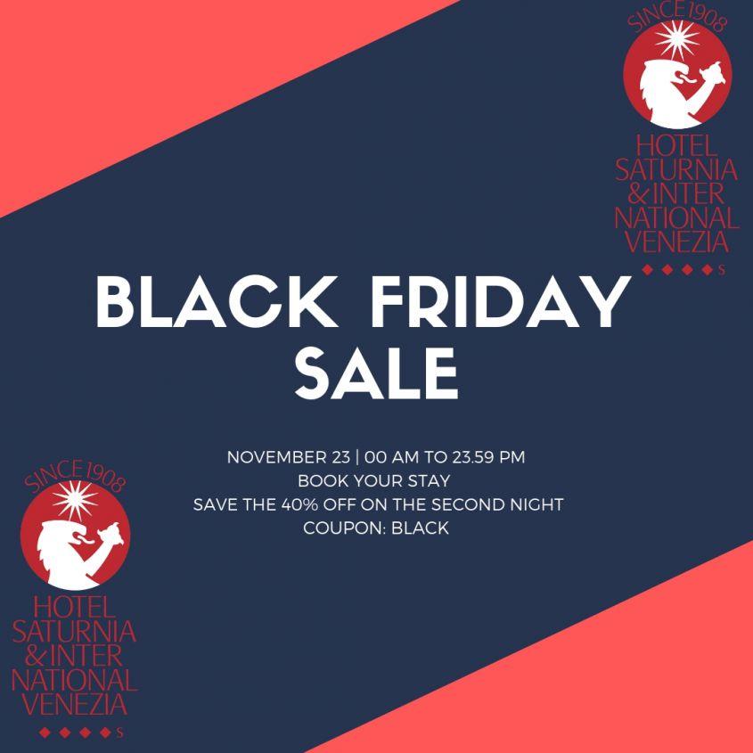 Black Friday Special Offer Special Offers Hotel Saturnia International Venezia